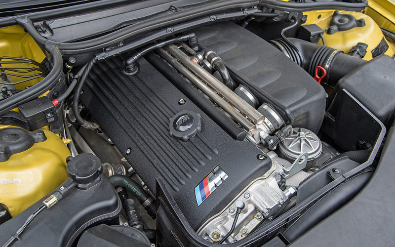 BMW M3 (E46) (2000-2006) - engine