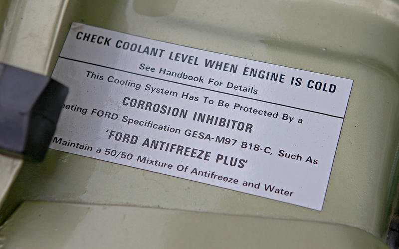 Check the coolant strength