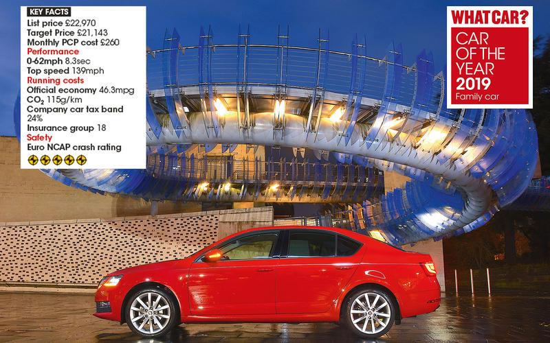 Overall Family Car winner: Skoda Octavia 1.5 TSI 150 SE L