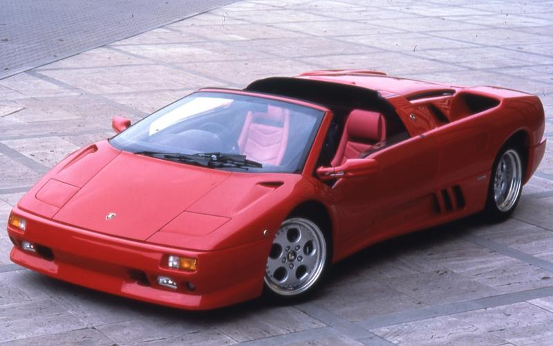 Lamborghini Diablo VT Roadster (1995)