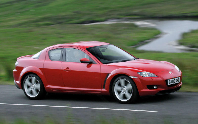 Mazda RX-8 (from £1300)