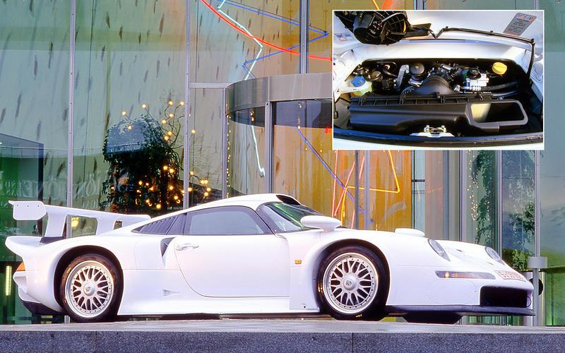 Porsche 911 GT1: 169.4bhp/litre
