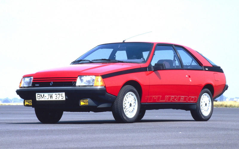 Renault Fuego - A VIEW TO A KILL (1985)