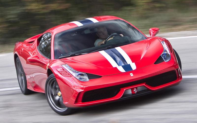 9=: Ferrari 458 Speciale: 1min 8.30secs