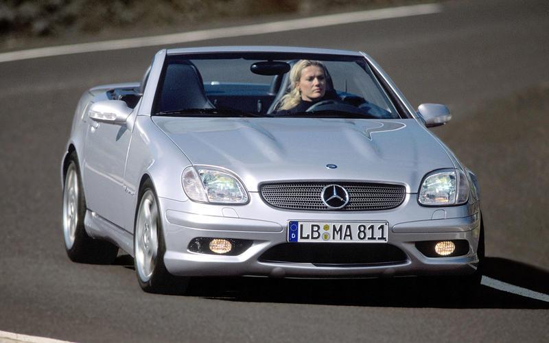 Mercedes-Benz SLK32 AMG (2001-2004)
