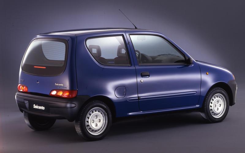 Fiat Seicento Elettra (1998)