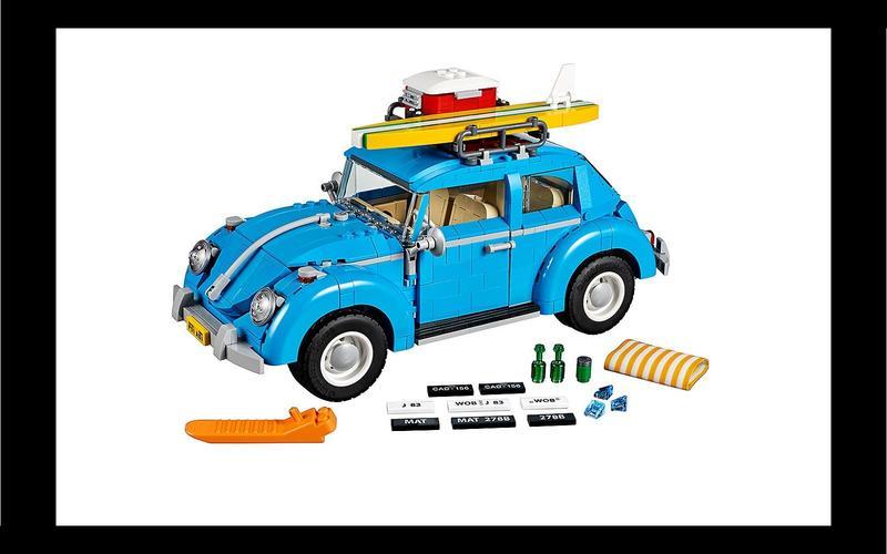 Volkswagen Beetle (Creator Expert set #10252, US$100/£75)