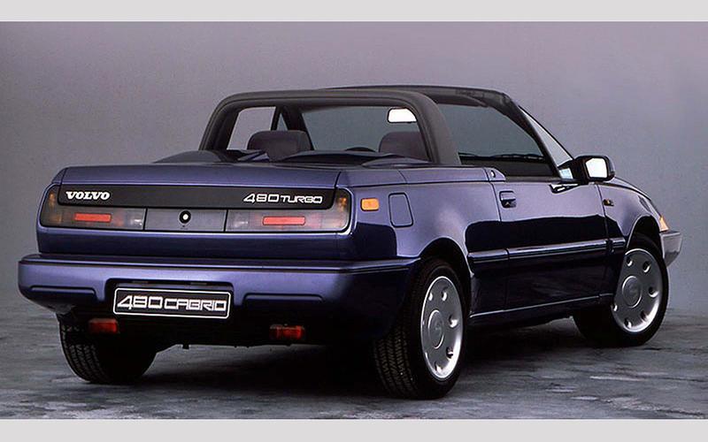 Volvo 480 convertible (1990)
