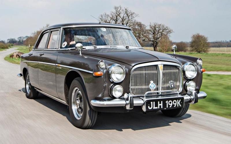 87 1967 Rover P5B
