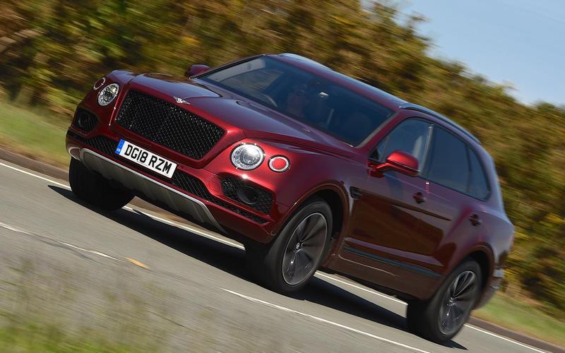 7: Bentley Bentayga