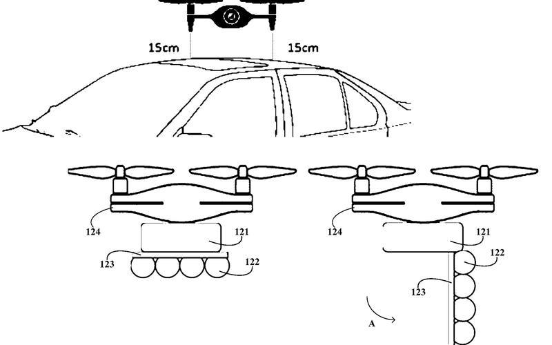 BMW's drone-powered car wash (2017)
