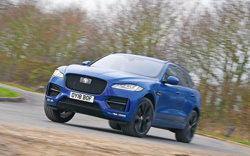 38: Jaguar F-Pace