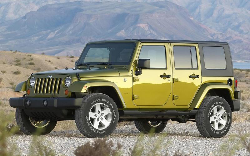 17: 2005 Jeep Wrangler