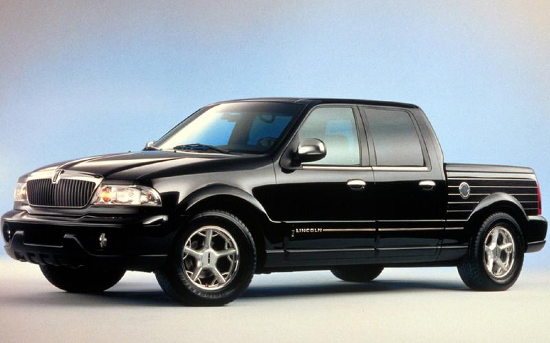 J Mays' miss: 1999 Lincoln Blackwood concept