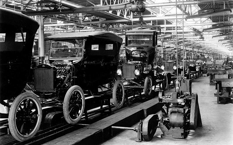 Mass production: the myth