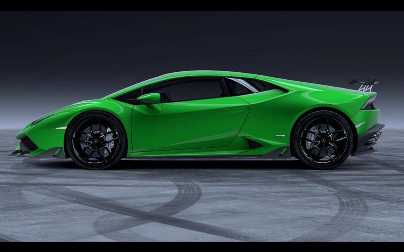 Lamborghini Huracán: body kit