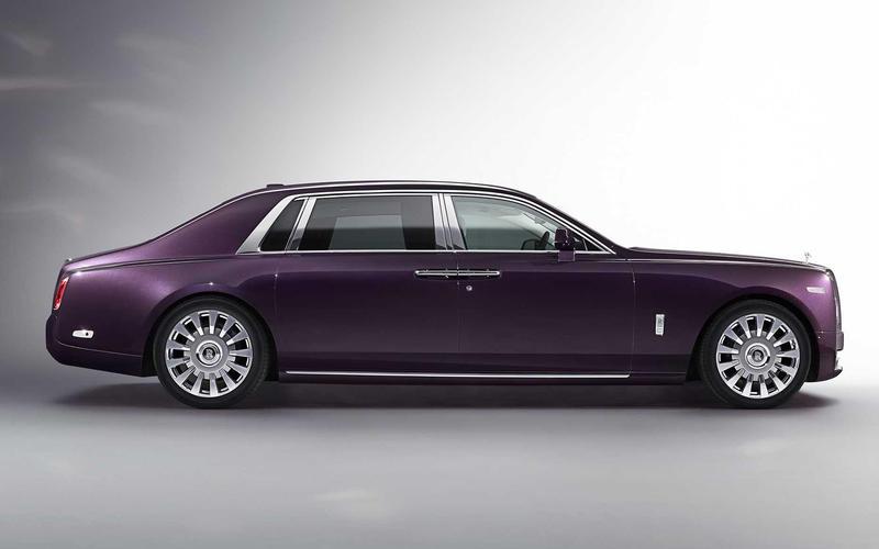 Rolls-Royce Phantom EWB (2005 and 2017)