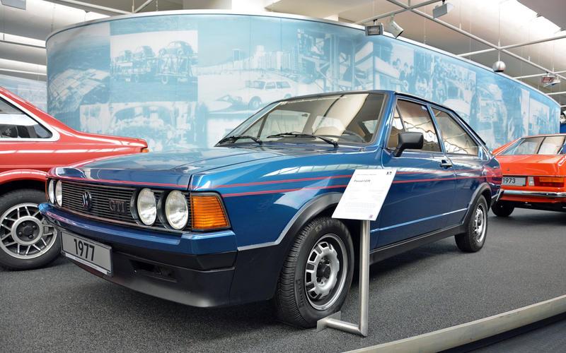[Présentation] Le design par VW - Page 5 14-ronan-glon-volkswagen-museum-1977-passat-gti_7