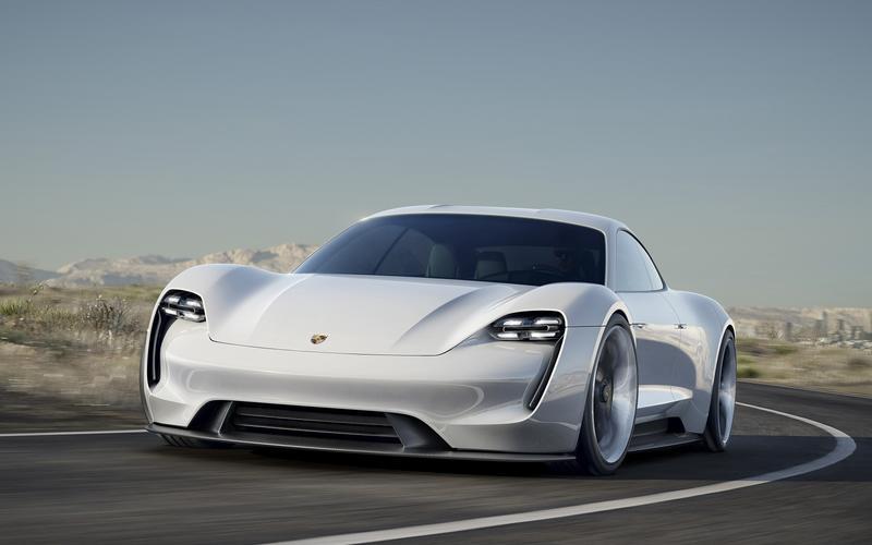 Porsche Mission E (2020)