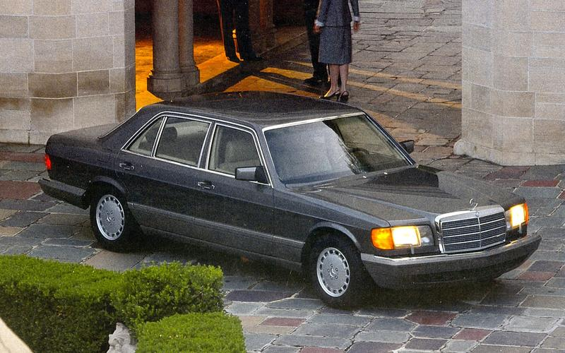 The glory days of the magnificently over-engineered Mercedes-Benz