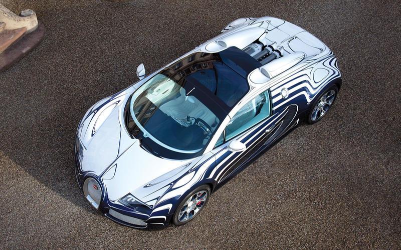 Bugatti Veyron L'Or Blanc (2011)