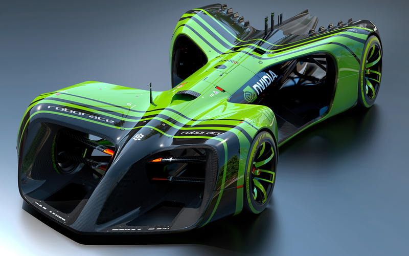 Roborace powered by Nvidia