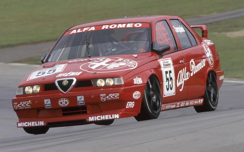 9: Alfa Romeo 155 Silverstone edition (1994)