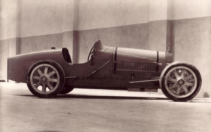 ALLOY WHEELS: Bugatti Type 35 (1924)