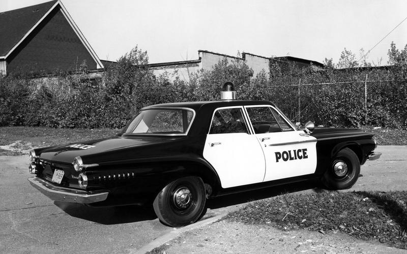 Glory Days Of The Big Three Police Cruiser Autocar