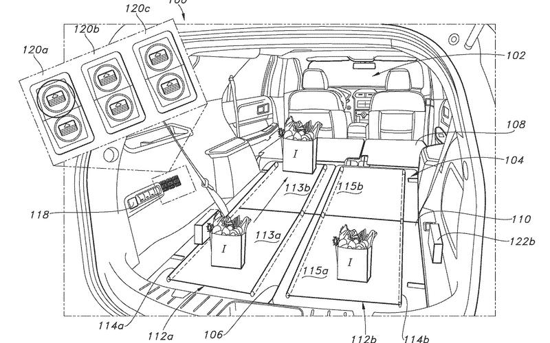 Ford's in-car conveyor belt (2017)