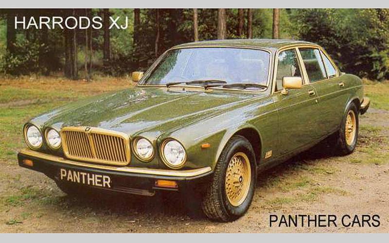 Harrods Jaguar XJ (1983)