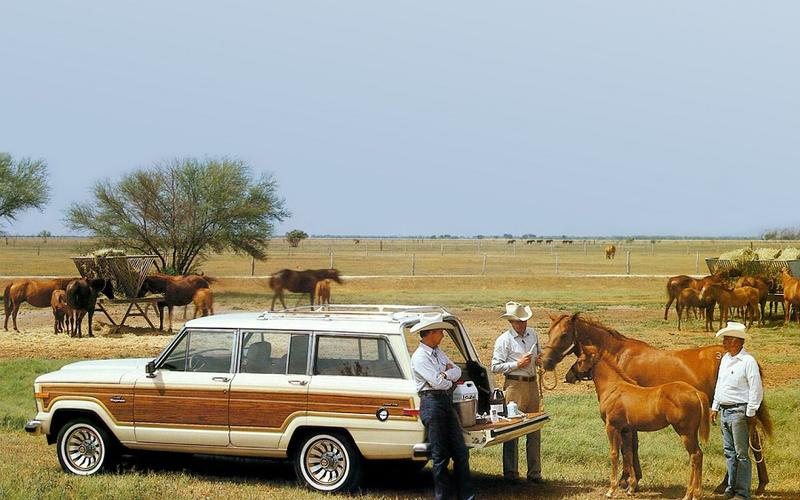 The end of the original Grand Wagoneer (1991)