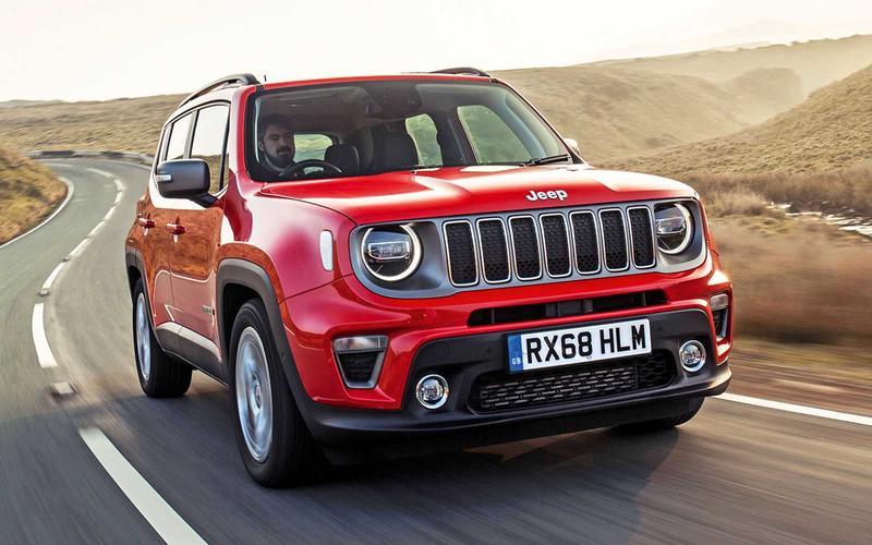 Jeep Renegade – £23,400