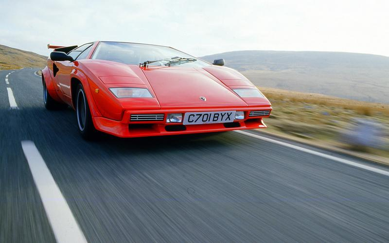 Marcello Gandini's hit: 1974 Lamborghini Countach