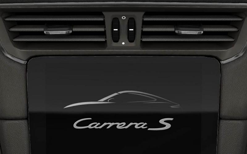Porsche 911: Leather-covered air vent slats