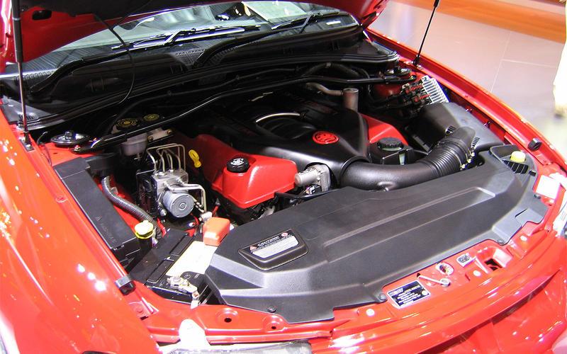 Vauxhall Monaro (2004-2007) - engine