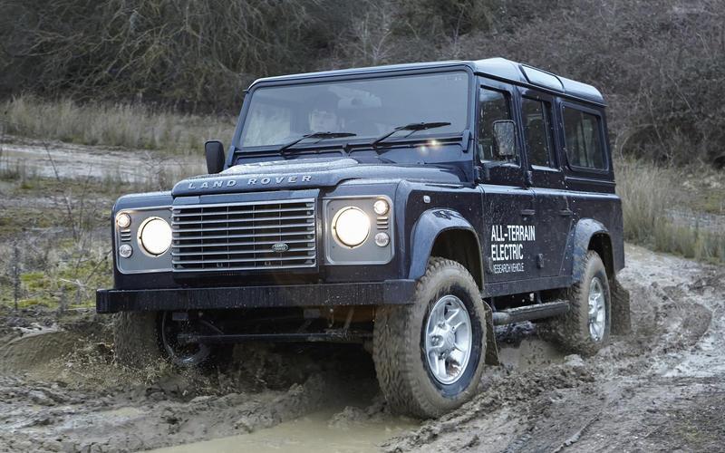 Land Rover Electric Defender (2012)