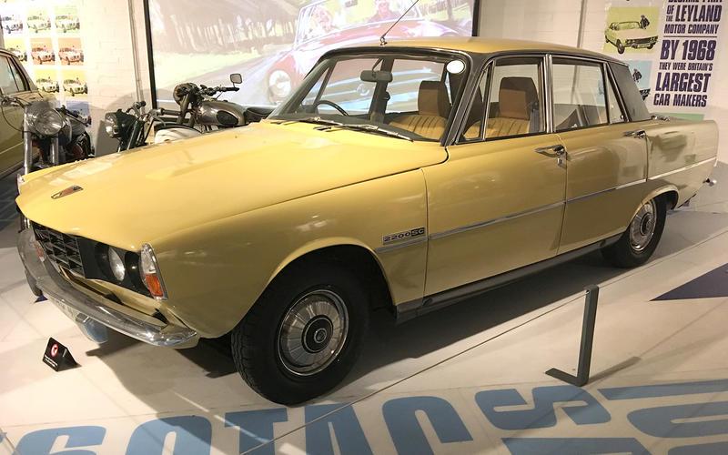 Rover P6 2200 (1974)