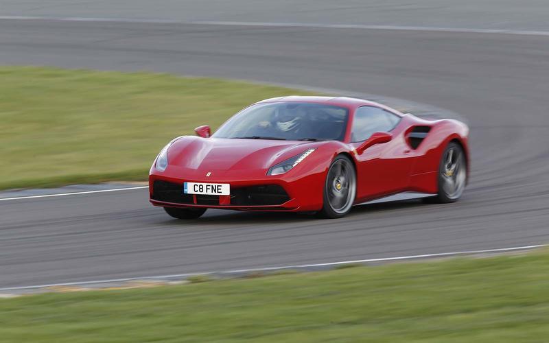 7=: Ferrari 488 GTB: 1min 8.00secs