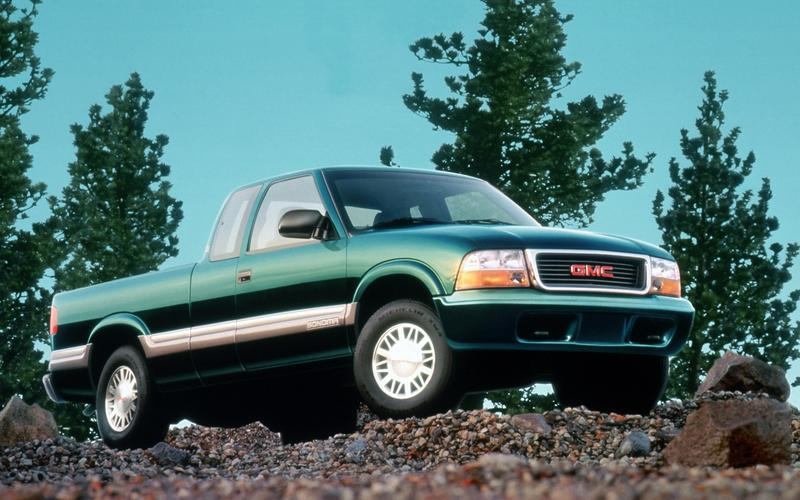 Chevrolet S10/GMC Sonoma, second generation (1993)