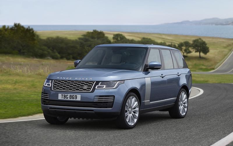 Range Rover – 2249kg