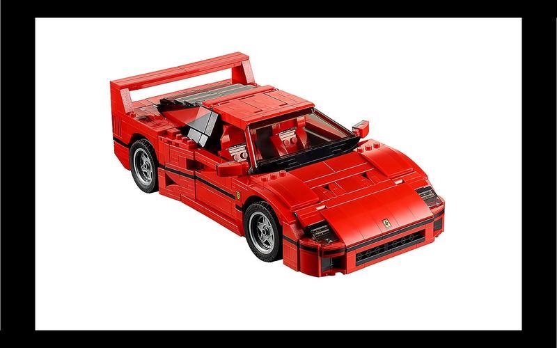 Ferrari F40 (Creator Expert set #10248, US$197/£216)