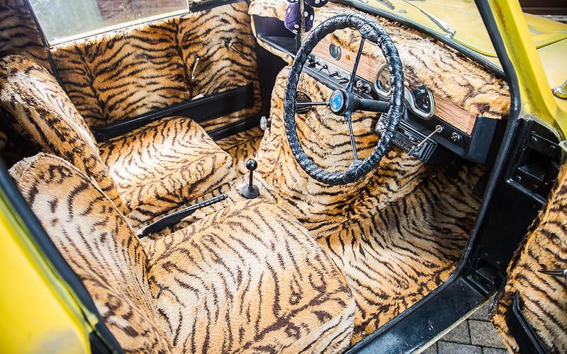 Any three-wheeled Reliant: Interior