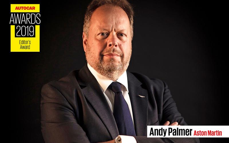 EDITOR'S AWARD: Andy Palmer – Aston Martin