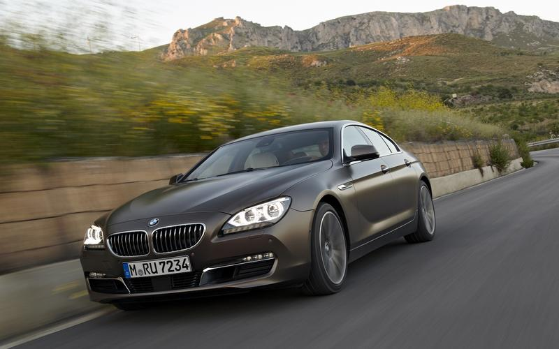 BMW 6 Series Gran Coupe (2012)