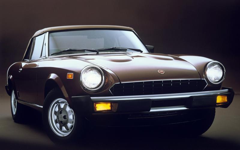 Fiat 124 Spider (1968)