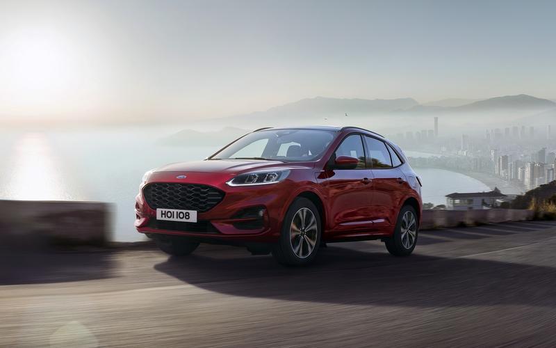 7: Ford Kuga (41,671 sold)