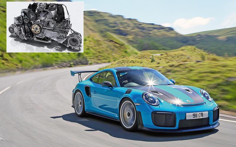 Porsche 911 GT2 RS: 181.6bhp/litre