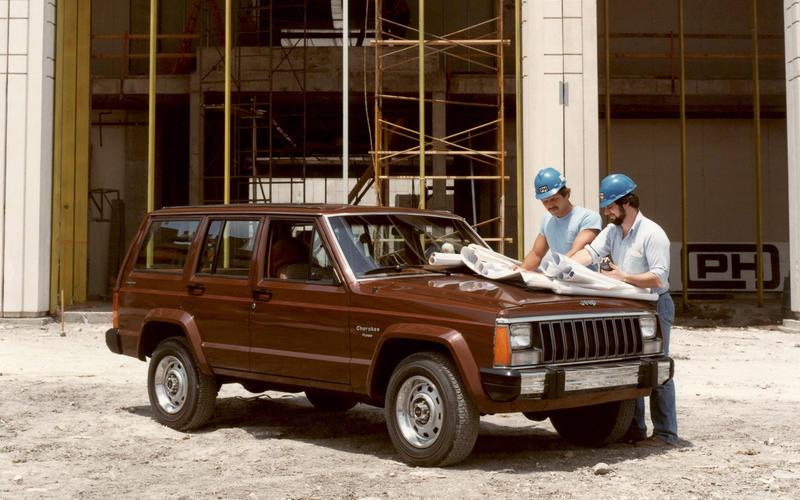 Jeep Cherokee (XJ, 1983)