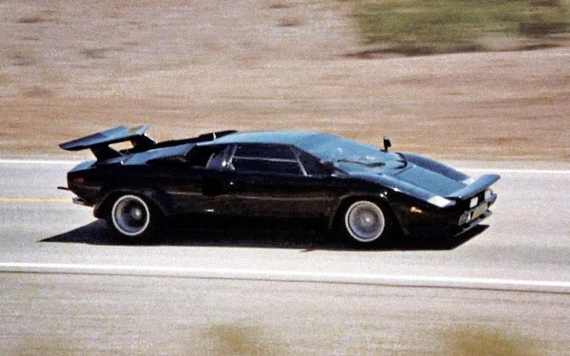 Lamborghini Countach (Cannonball Run, 1981)